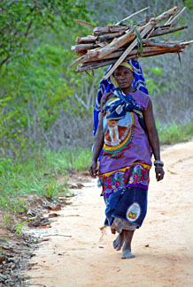 Woman from Cabo Delgado